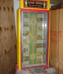Test Your Love Appeal Arcade Machine