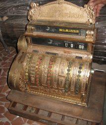 Antique National Cash Register Model no. 442
