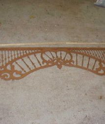Architectural Ornate Fretwork Panel
