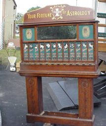 Your Fortune Told  Astrology Machine Himebaugh Mfg.