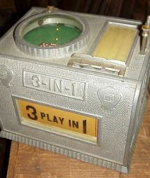 Rare 3 in 1 dice machine