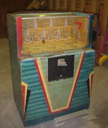 Bally Basket Ball Arcade Machine 1940s
