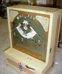 High Fly Baseball Counter Game Machine