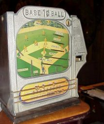Baseball Skill Game Coin Op Trade Stimulator