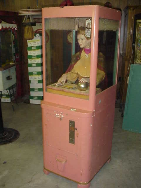 Mike Munves Fortune Teller Machine 1930 S Gameroom Show