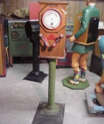 Vintage Strength Tester Floor Model Machine