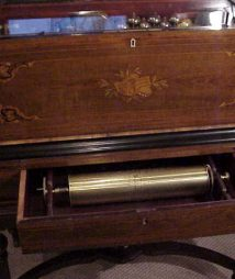 Rare Cylinder Music Box