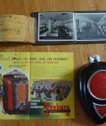 Seeburg Collection Original Jukebox Manual Photo Speaker Sales Book