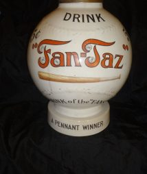Fan-Taz Baseball Syrup Soda Dispenser
