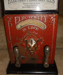 Electricity Is Life Mills Firefly Shock Arcade Machine