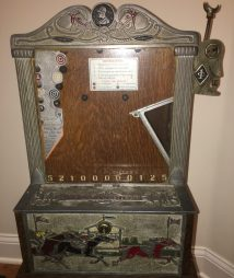Jennings The Favorite One Cent Arcade Skill Game