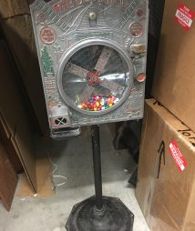Old Mill Gum Candy Vendor by Mutoscope Reel Co.