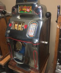 Jennings 50-cent Standard Chief Antique Slot Machine
