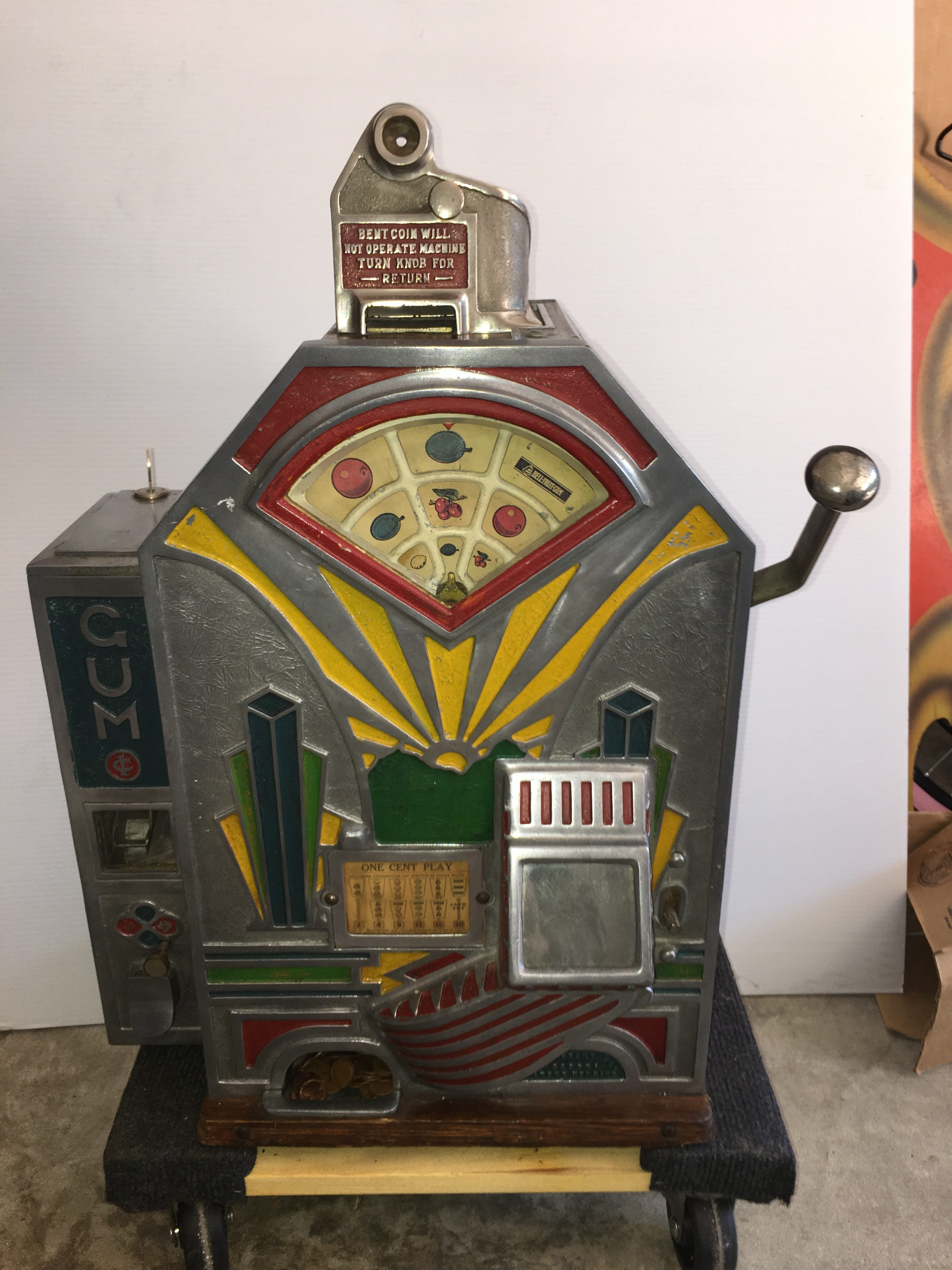 Jennings Little Duke 1c Slot Machine C 1932 Gameroom Show