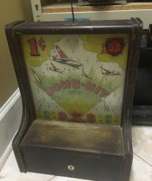 Bomb Hit World War 11 Penny Drop Trade Stimulator