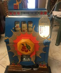 Antique Mills Bursting Cherry Slot Machine