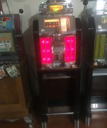 Jennings Buckaroo Console 25 Cent Four Reel Rare Slot Machine