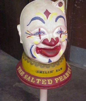 Smilin Sam Peanut Vendor with Stand