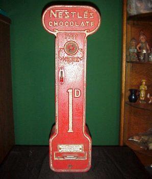 Nestle's Chocolate Vending Machine