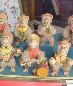 Bimbo Monkey Band Arcade Automaton Arcade Machine