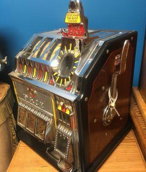1934 Pace Bantam Jak-Pot 1c Slot Machine