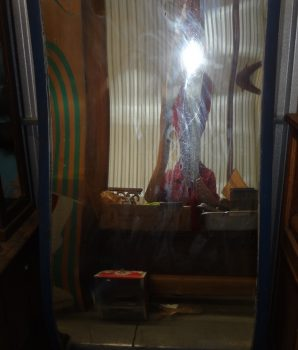 Carnival Penny Arcade Coney Island Style Funny Glass Mirror