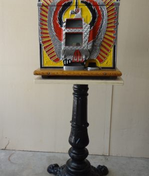 Slot Machine Time Period Cast Iron Stand