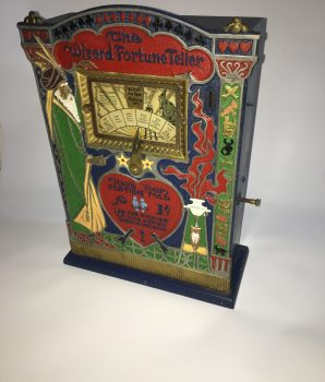 Wizard Fortune Teller Machine Mills Mfg.