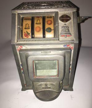 Puritan Baby Bell 5 Cent Trade Stimulator w/ Jackpot