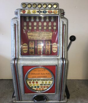 Caille A.C. Novelty Multi-Bell Slot Machine