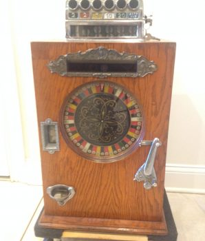 Watling Large Single Wheel Slot Machine