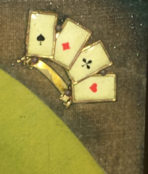 Domino 3-reel Animated 5 cent Dice Gamblers Slot Machine