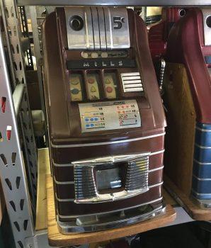 Mills High Top Brown Bell Slot Machine