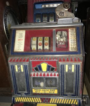 Watling Baby Twin Jackpot Torch Vendor Front Slot Machine
