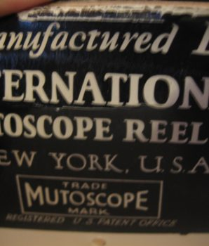 "Mutoscope Reel Original ""The Stripper"" – Through the Keyhole"