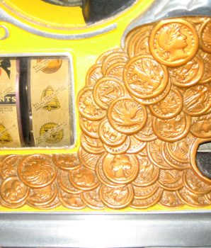 Watling Original Rol-A-Top 5c Slot Machine with Venders & Gold Awards