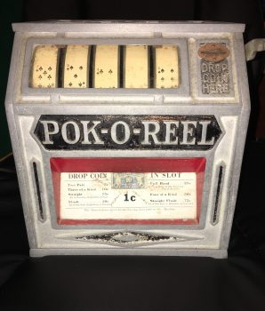 1930s Pok-O-Reel Trade Stimulator