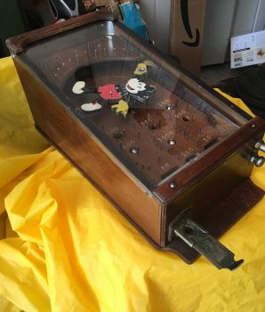 Salesman Sample  Model Mickey Mouse Pinball Machine 1930's