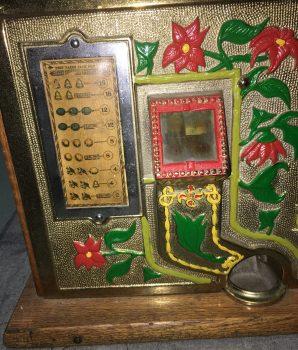 1931 Mills Golden Poinsettia Bell Slot Machine