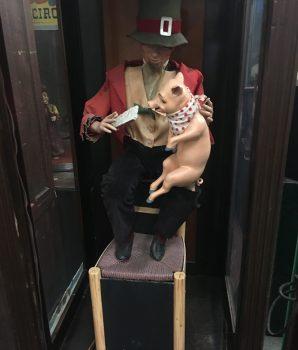 Gustave Vichy Automaton Peasant Boy Feeding Pig