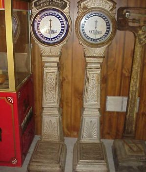 National Weighing Machine Coin-Op Scale Penny Weight Scale