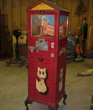 Arcade Shooting Galley Cat Novelty