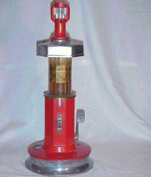 Van-Lite Gas Pump Filling Station Lighter & Fluid Dispenser