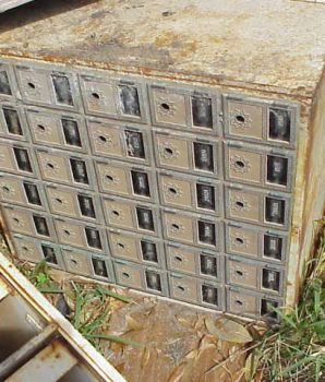 Brass Post Office Boxes