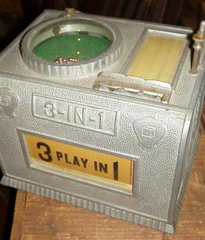 Rare 3 in 1 dice machine