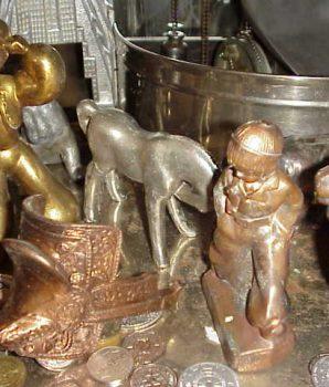 Vintage Digger Machine Metal Prizes