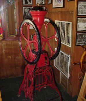 Floor Model Coffee Mill
