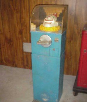 Mutoscope Tungo Clown Strength Tester Vintage Arcade