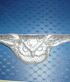 Mills Owl plaque