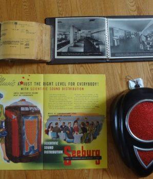 Seeburg Collection Original Jukebox Manual Photo Speaker Sales Book